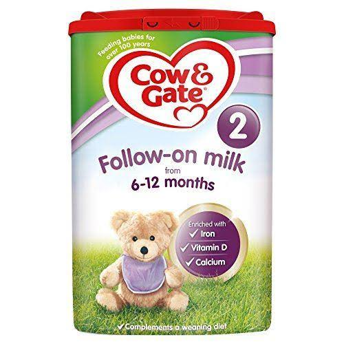 Cow & Gate 2 Follow On Baby Milk Formula - 800g, 6 to 12 mos