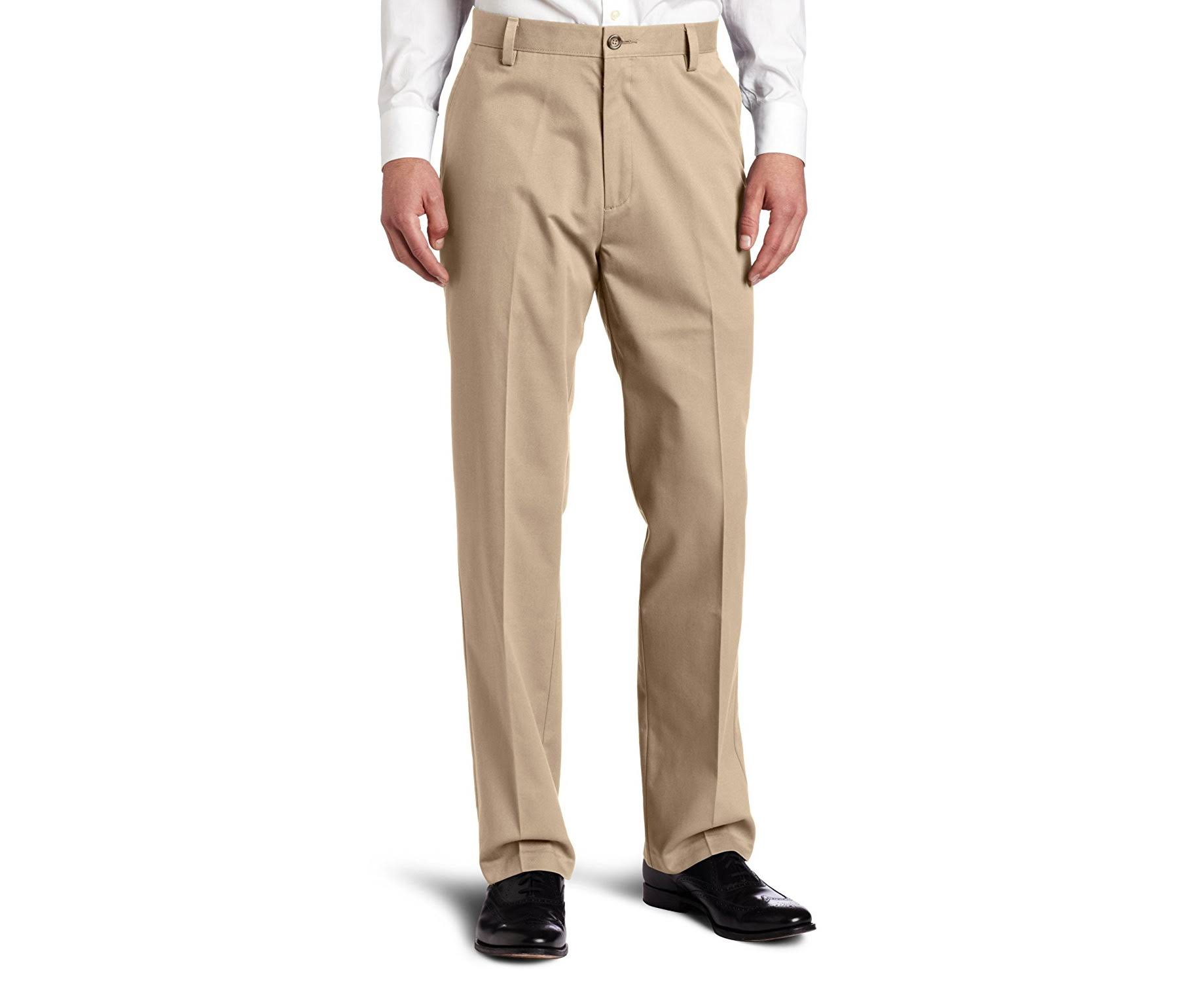 Dockers Men's Easy Khaki D3 Classic Fit Flat Front Pants, Size: 38x32, New British Khaki