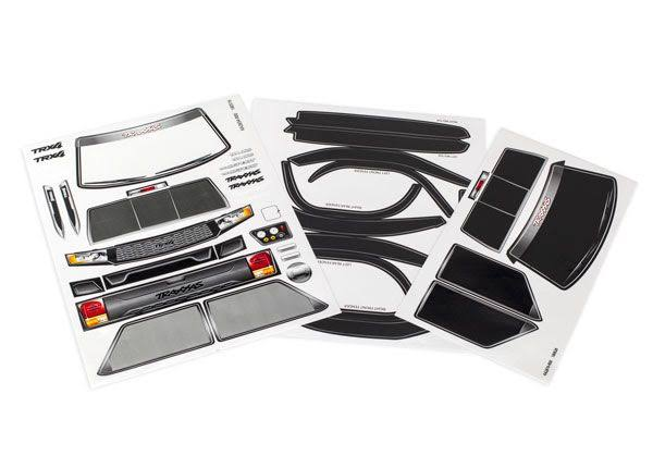 Traxxas 8113 Decal Sheet TRX-4 Sport