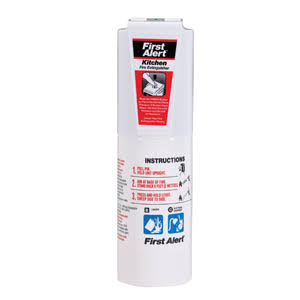 First Alert Kitchen Fire Extinguisher - White