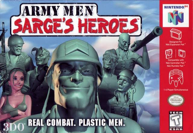 Army Men Sarges Heroes [64 Game]