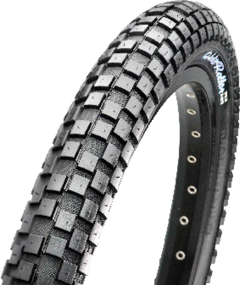 Maxxis Holy Roller Wire Beaded Bike Tyre - Black