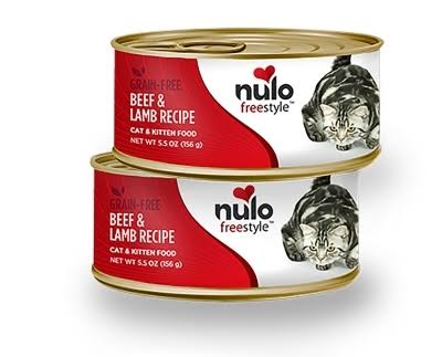 Nulo Cat Grain-Free Wet Cat Food - Beef & Lamb, 5.5oz