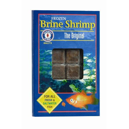 San Francisco Bay Brand Frozen Brine Shrimp - 36 Count, 50g