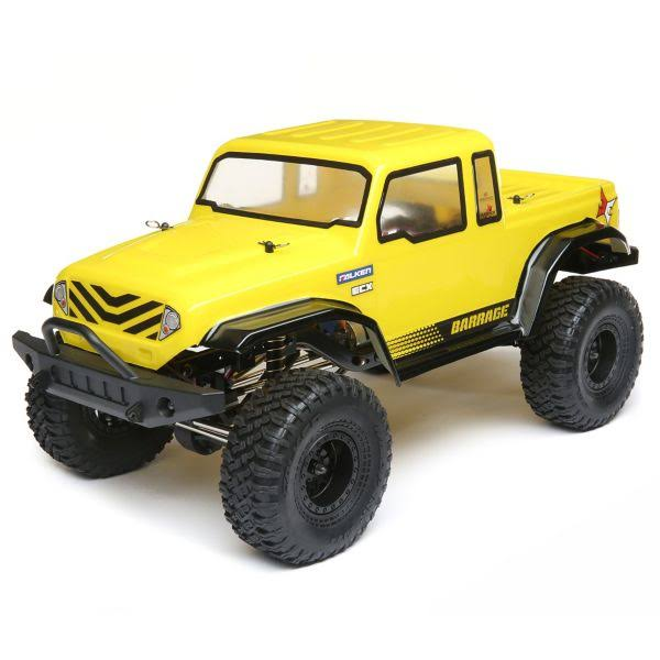 ECX - 1/12 Barrage Gen2 4WD 1.55 Scaler Brushed: Yel RTR - 01013T2