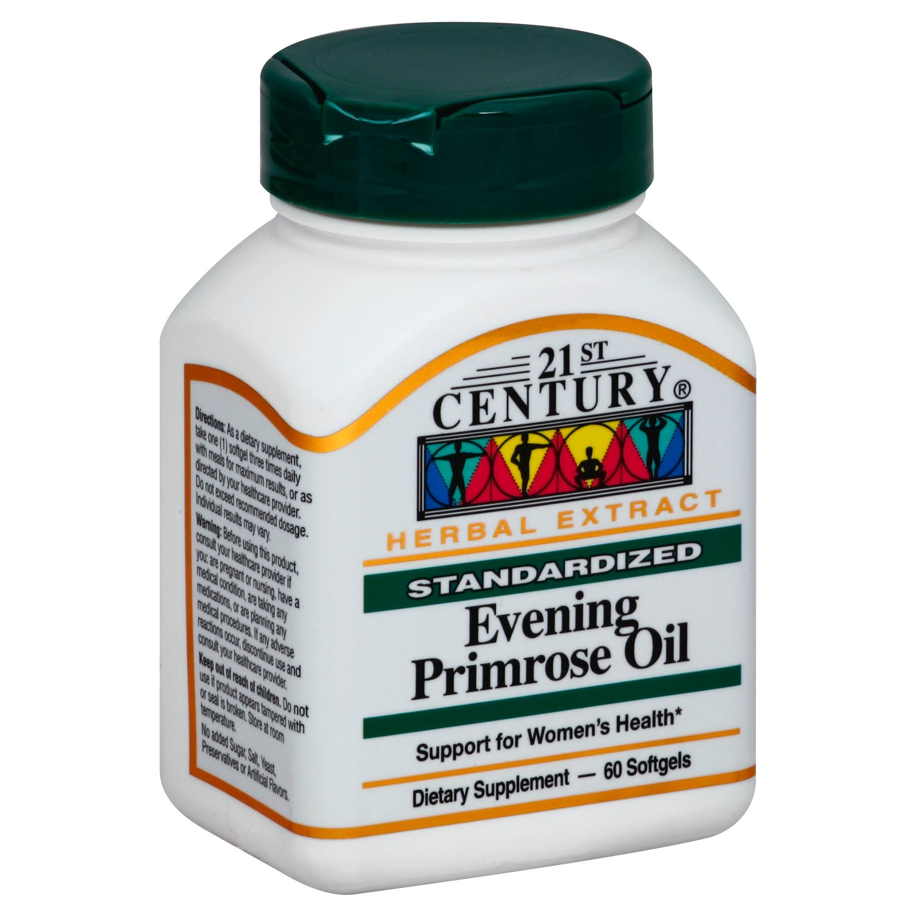 21st Century Evening Primrose Oil Supplement - 60 Count