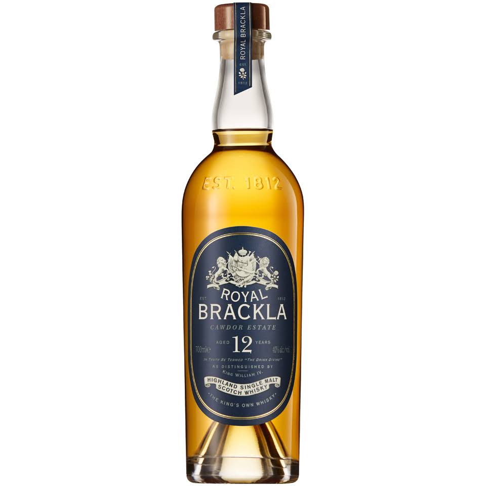 Royal Brackla Whisky, Scotch, Highland Single Malt, Aged 12 Years - 750 ml