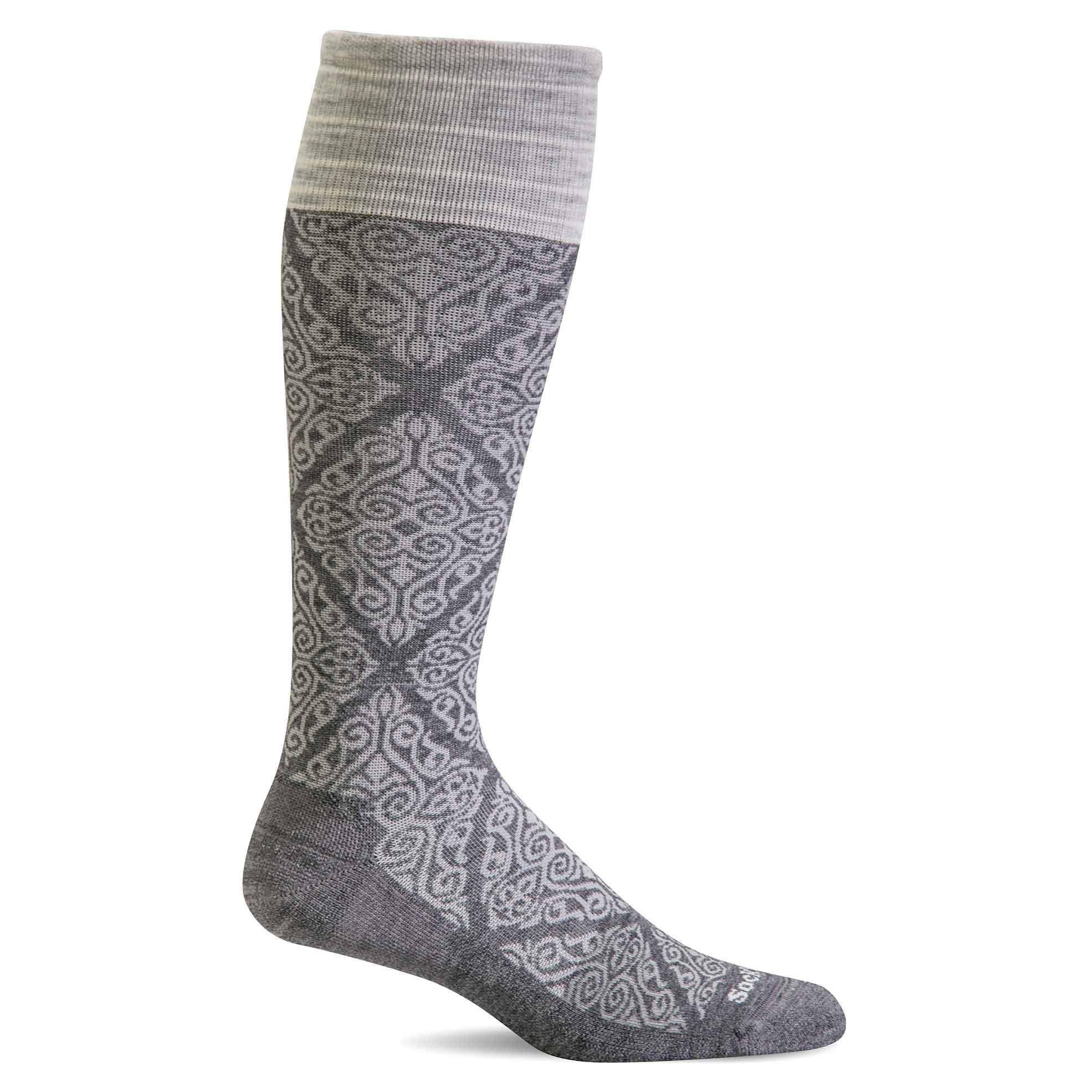 Sockwell Women's The Raj Firm Compression Socks M/L / Charcoal