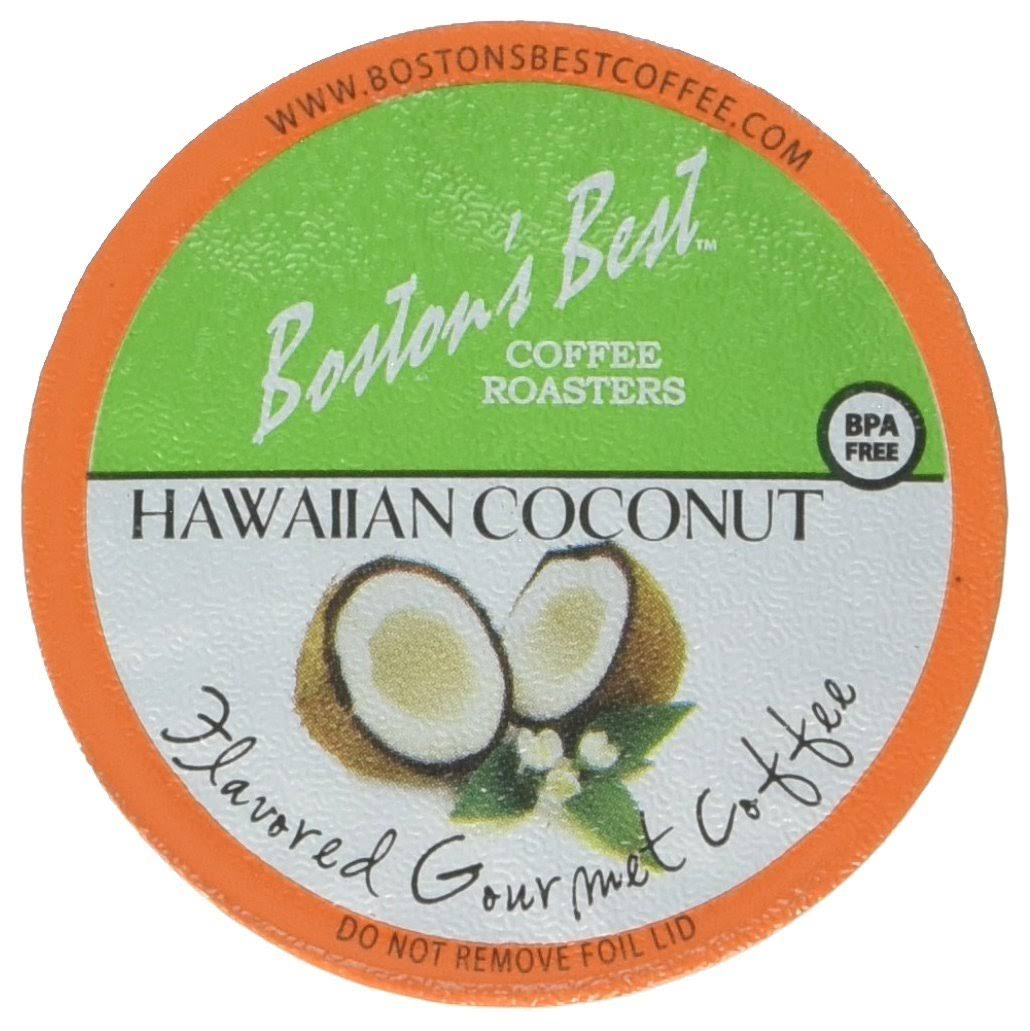 Boston's Best Single Serve K Cup Coffee - Hawaiian Coconut, 42ct