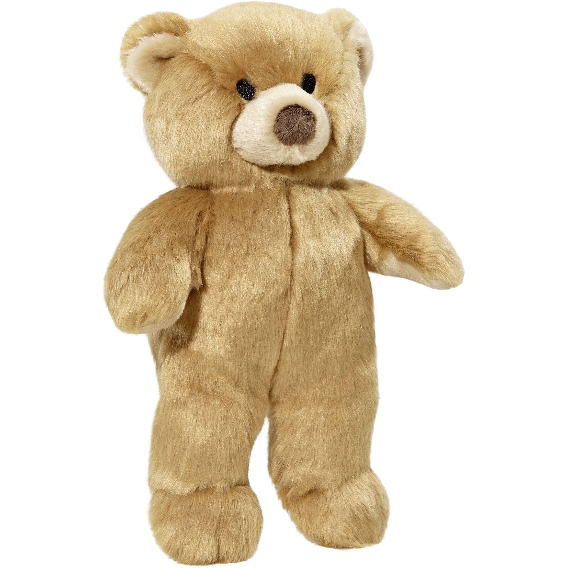 "Fluff & Tuff Mr. Honey Bear New 12"" Dog Toy"