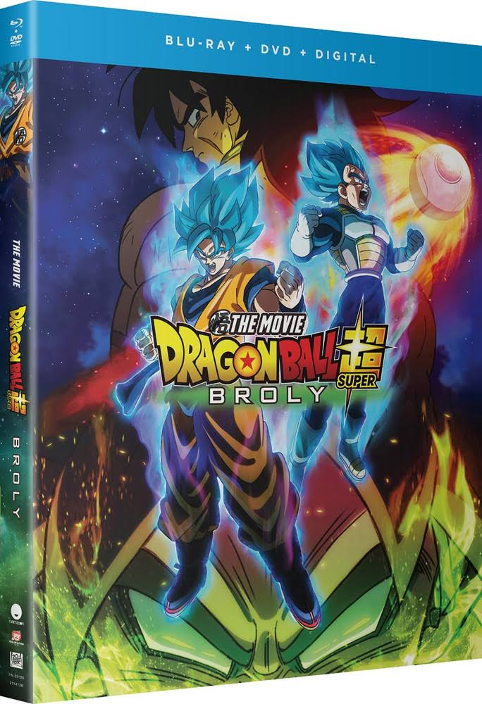Dragon Ball Super: Broly Blu-ray