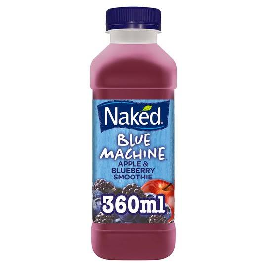 Naked Blue Machine Smoothie - Apple & Blueberry, 360ml