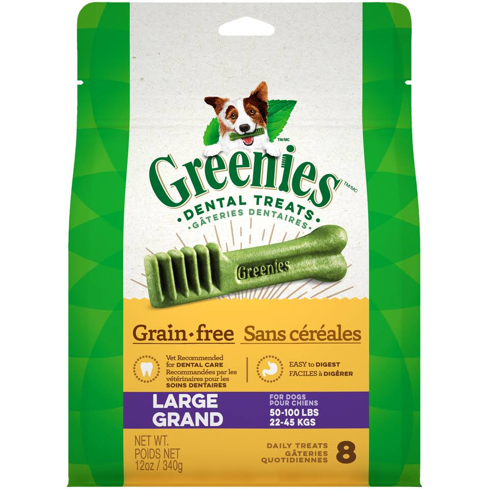Greenies Grain Free Dog Dental Chew Treats
