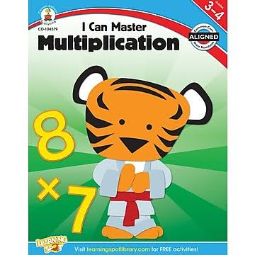 I Can Master Multiplication, Grades 3-4 - Carson-Dellosa Publishing