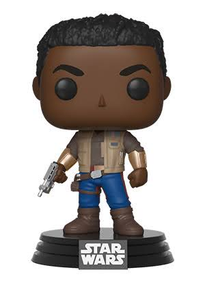 Funko Pop Star Wars The Rise of Skywalker: Finn Vinyl Bobble-Head Figure