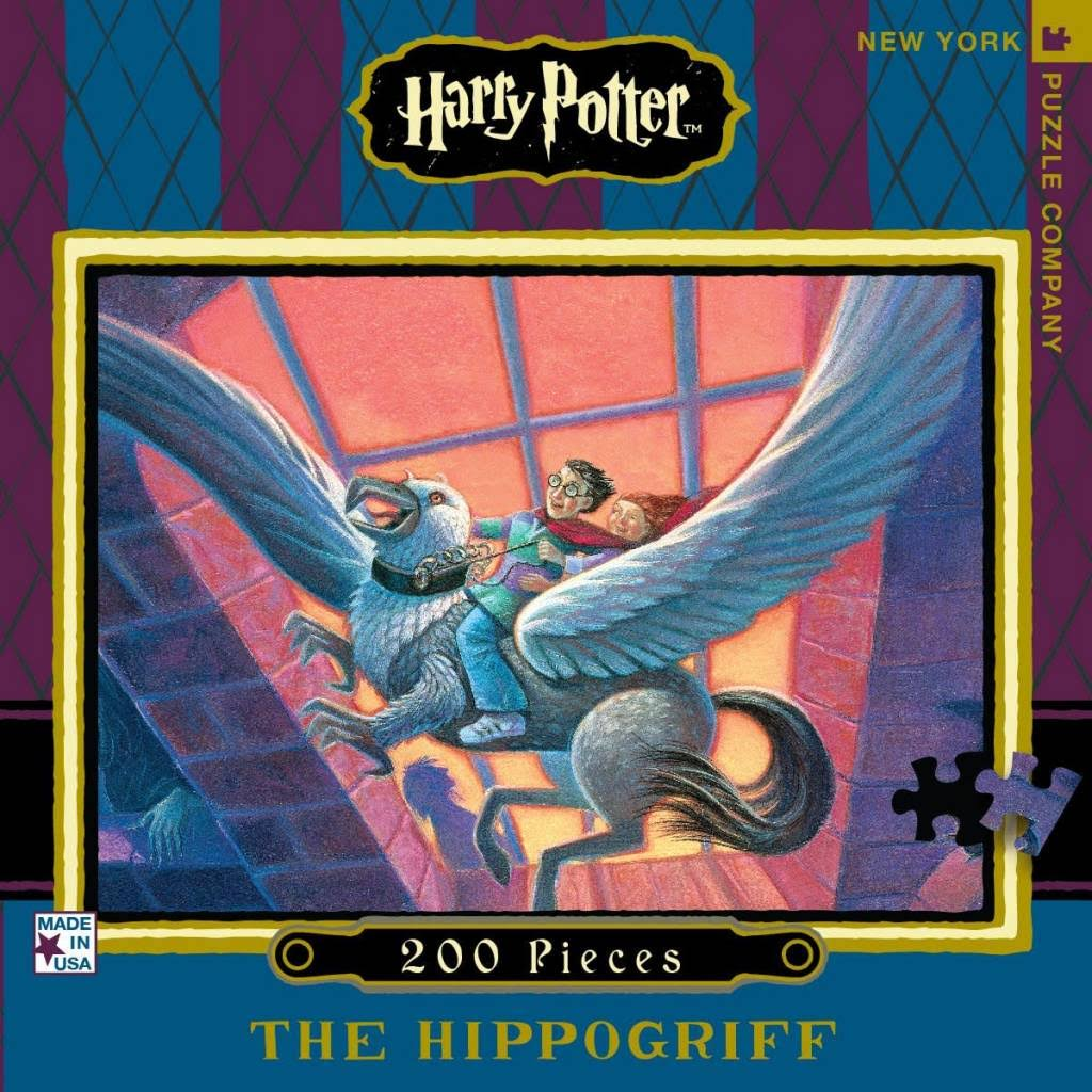 Harry Potter Hippogriff Adventure 200 Piece Puzzle