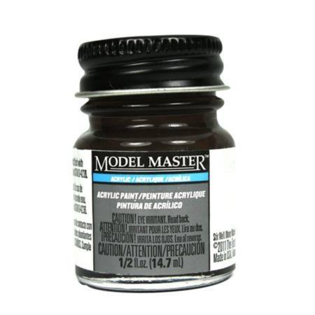 Testors Model Master Acrylic Paint - Burnt Umber, 14.7ml