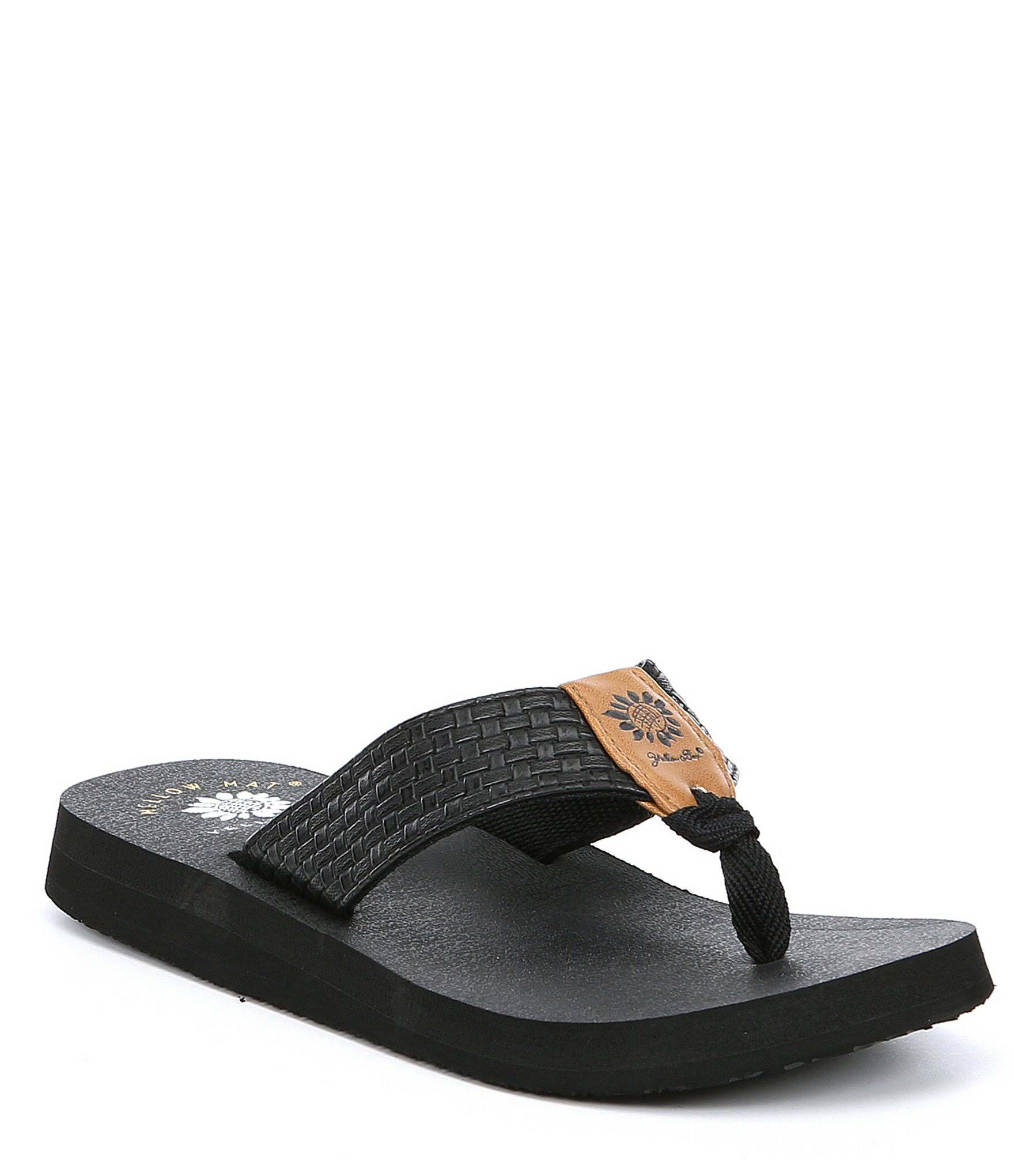 Yellow Box Nillian Black Sandal