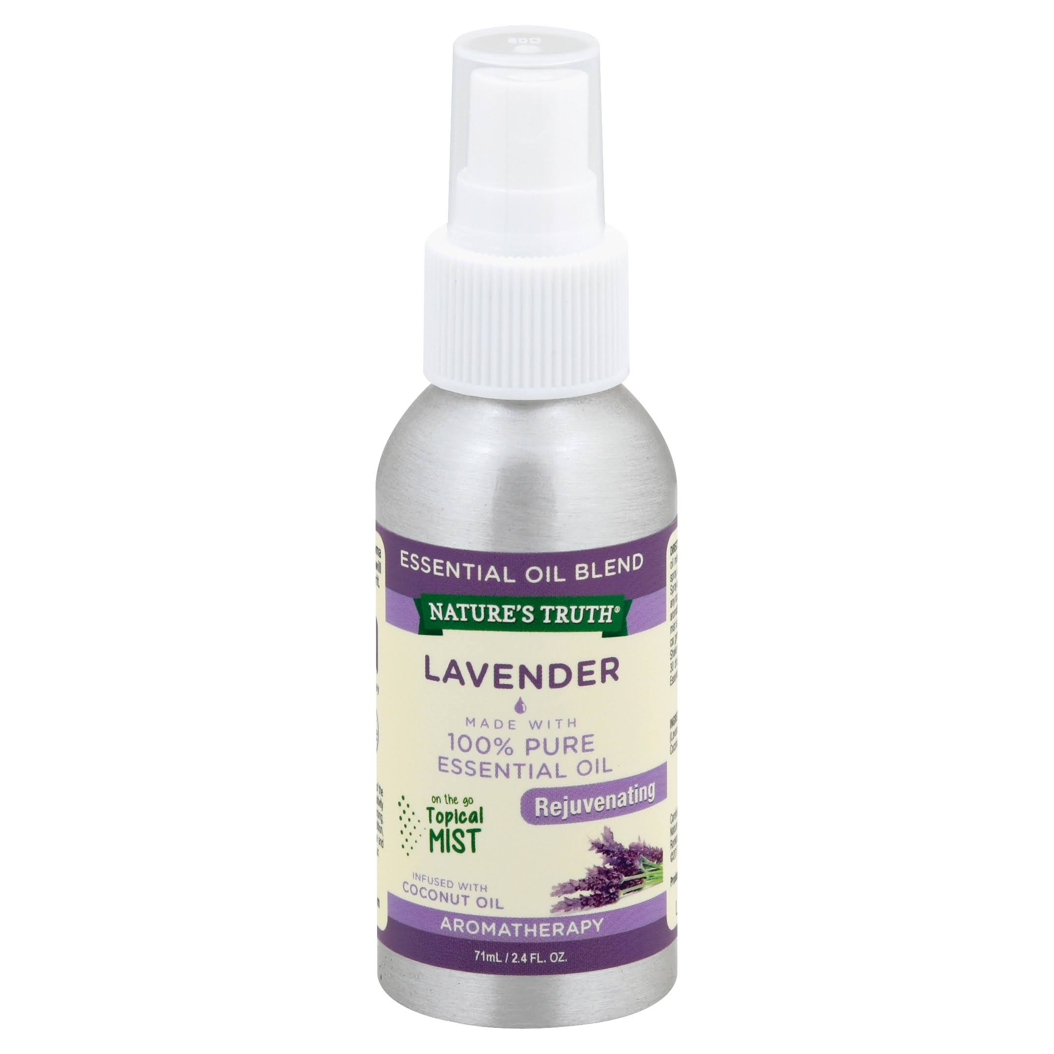 Nature's Truth Rejuvenating Lavender Mist Spray - 2.4oz