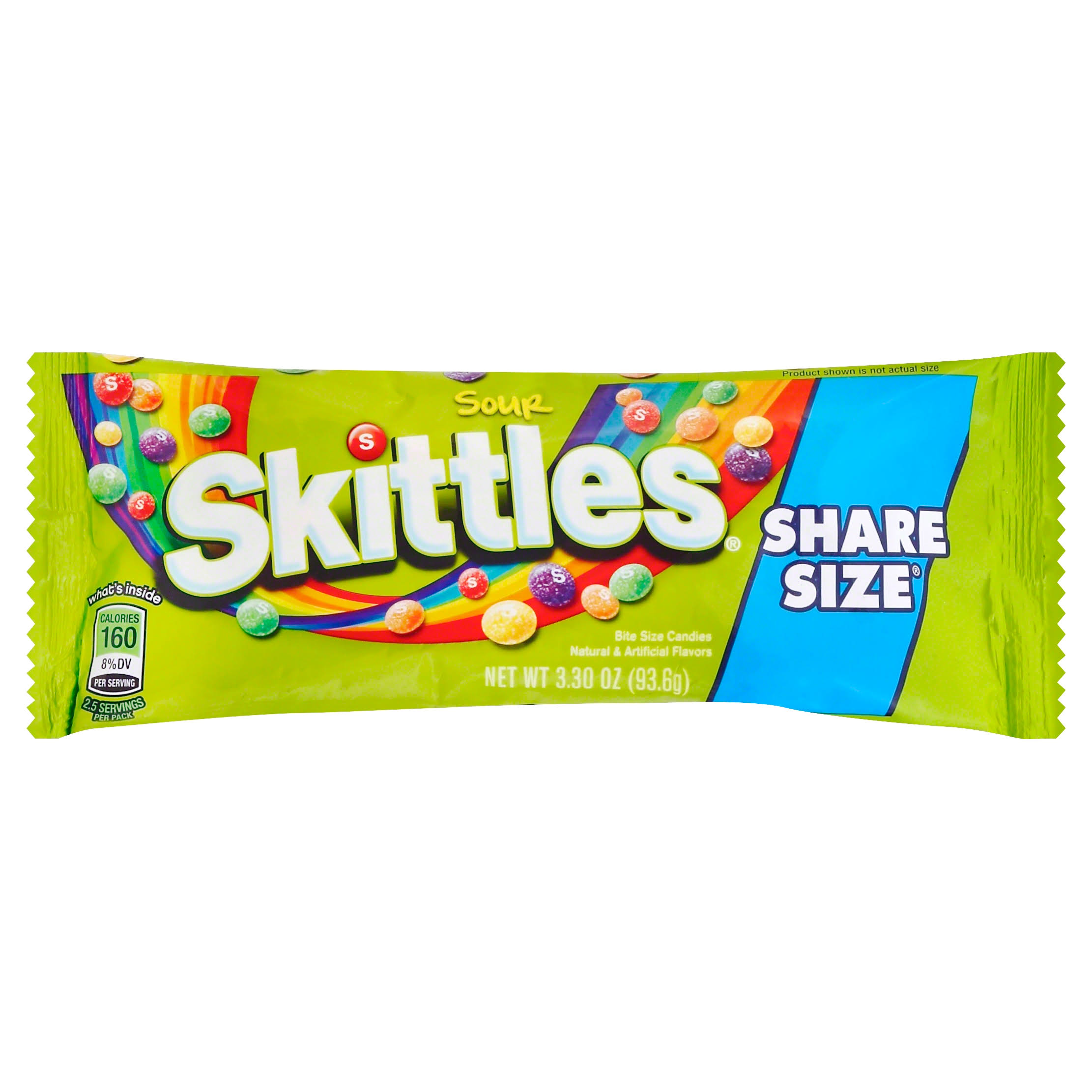 Skittles Sour Candles