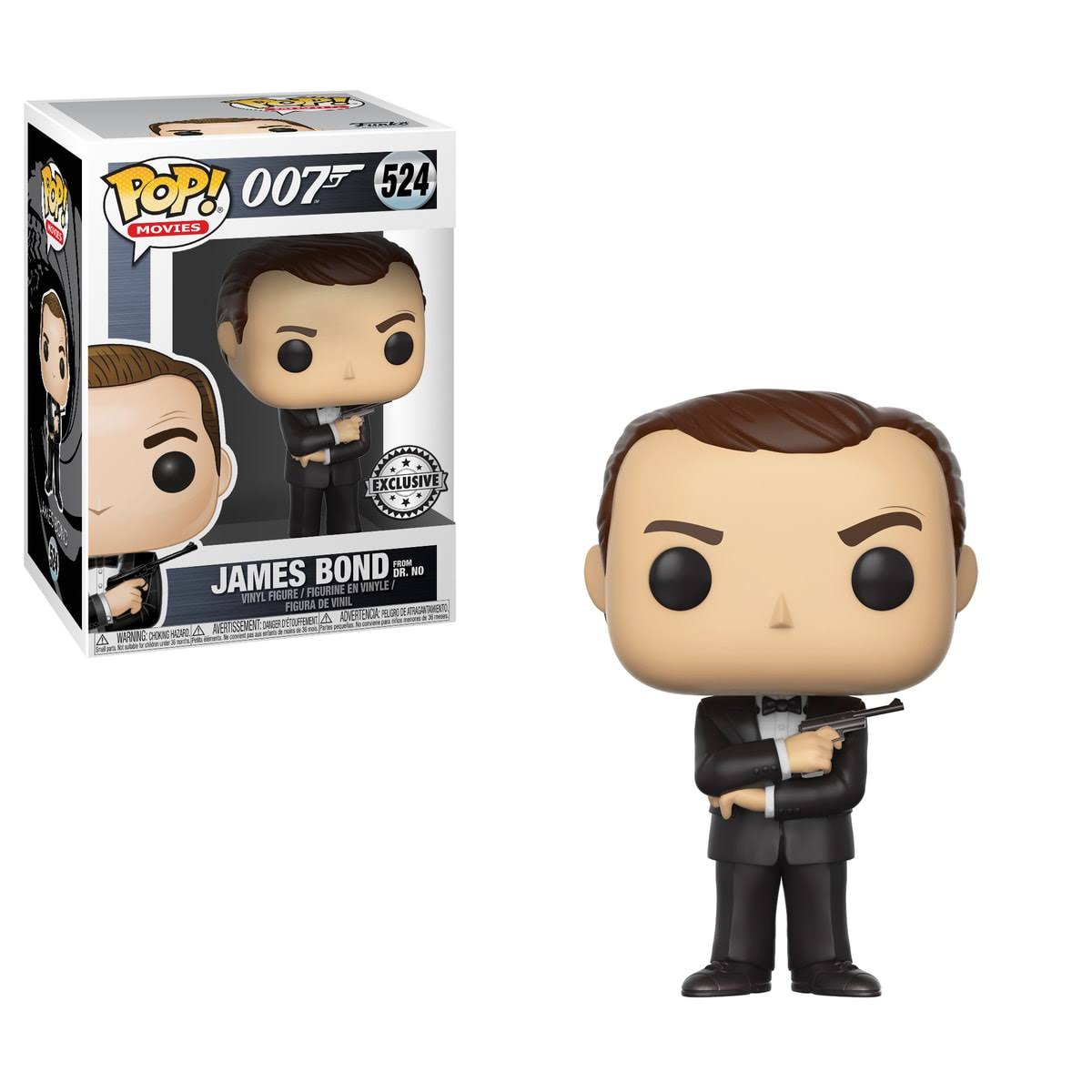 Funko Pop! Movies: James Bond Vinyl Figure - Sean Connery