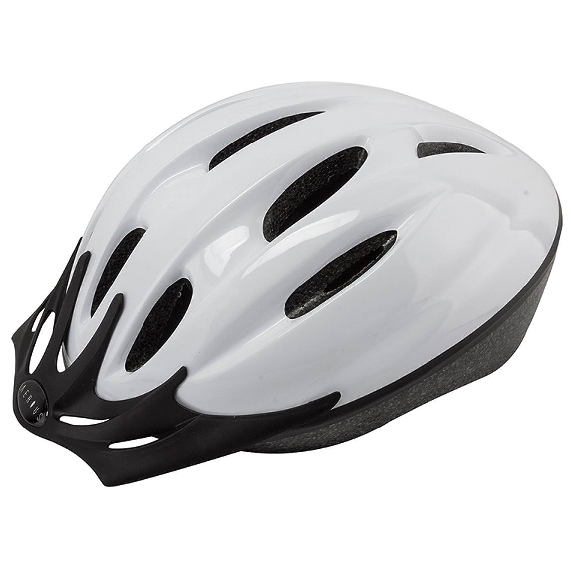 Aerius V10 Bicycle Helmet - White, Small and Medium