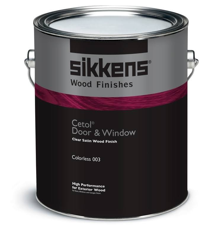 Sikkens SIK48003 1 Gallon Cetol Door & Window - Satin Colorless 003