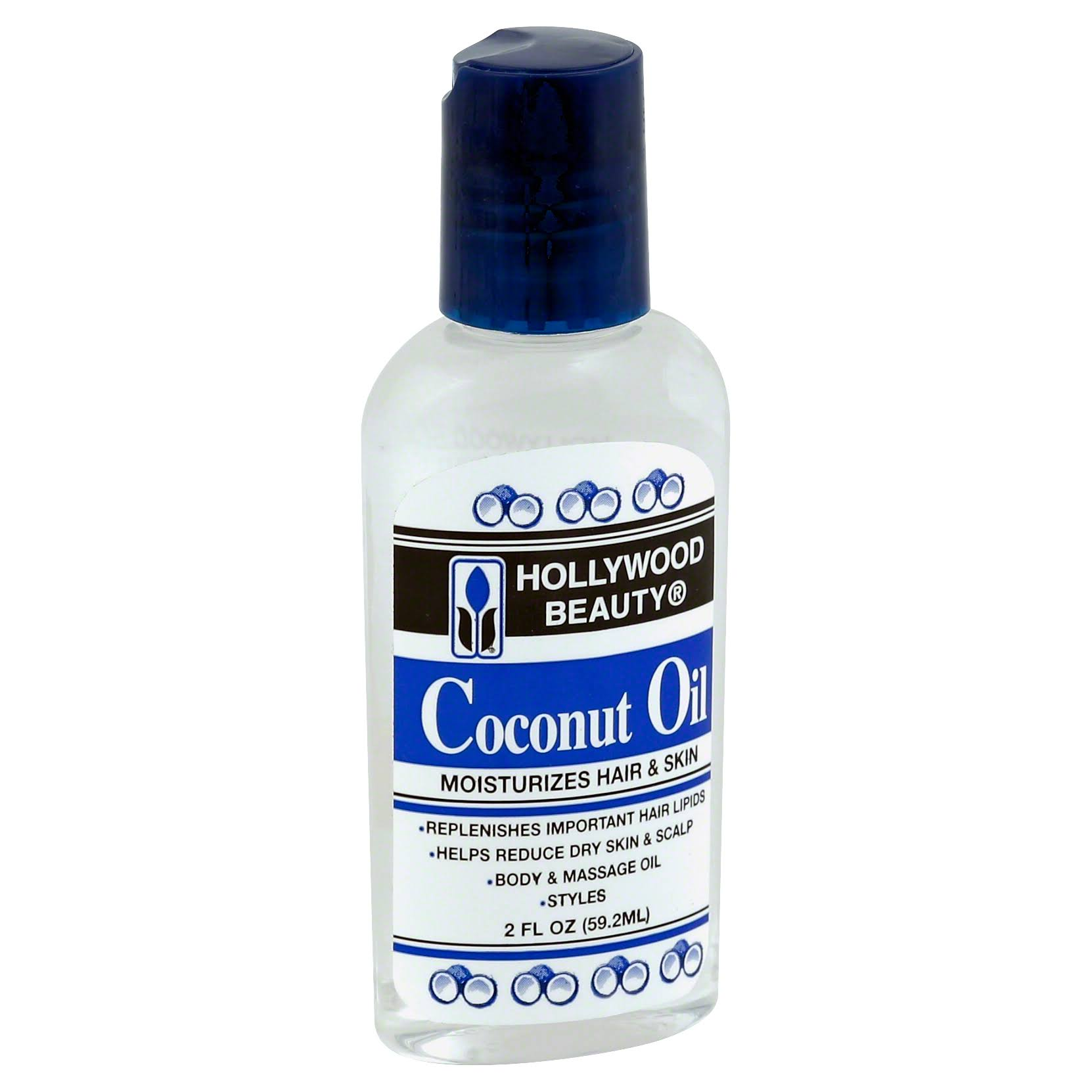 Hollywood Beauty Coconut Oil Moisturizer - 2oz