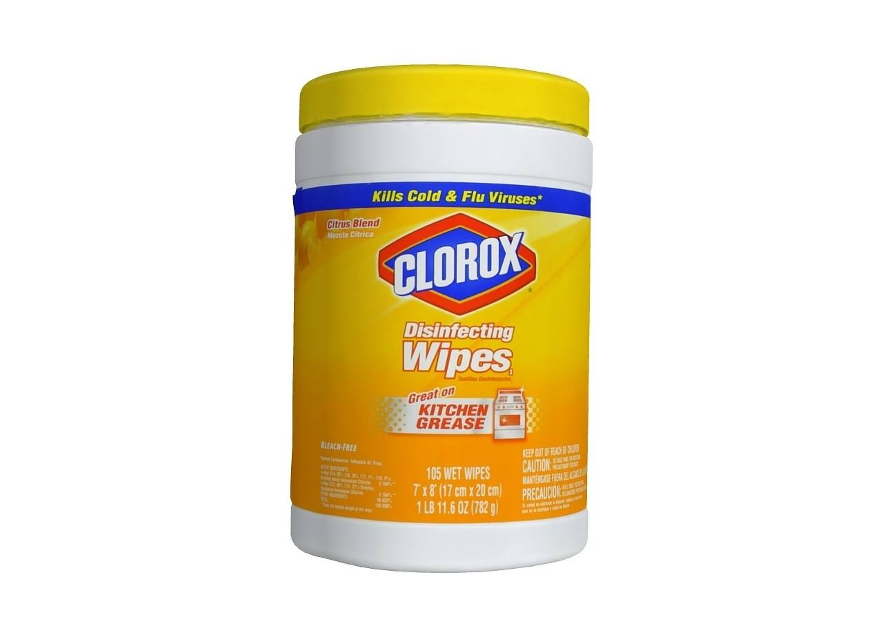 Clorox Disinfecting Wipes - Citrus Blend
