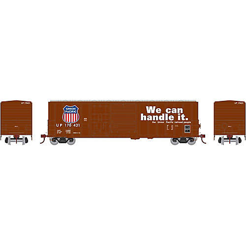 Athearn ATH26698 HO RTR 50' FMC Combo Door Box, Up #170431