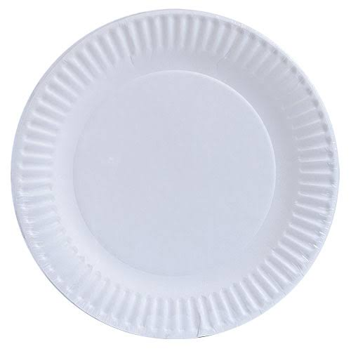 Nicole Home Collection Paper Plate - White, 1200ct