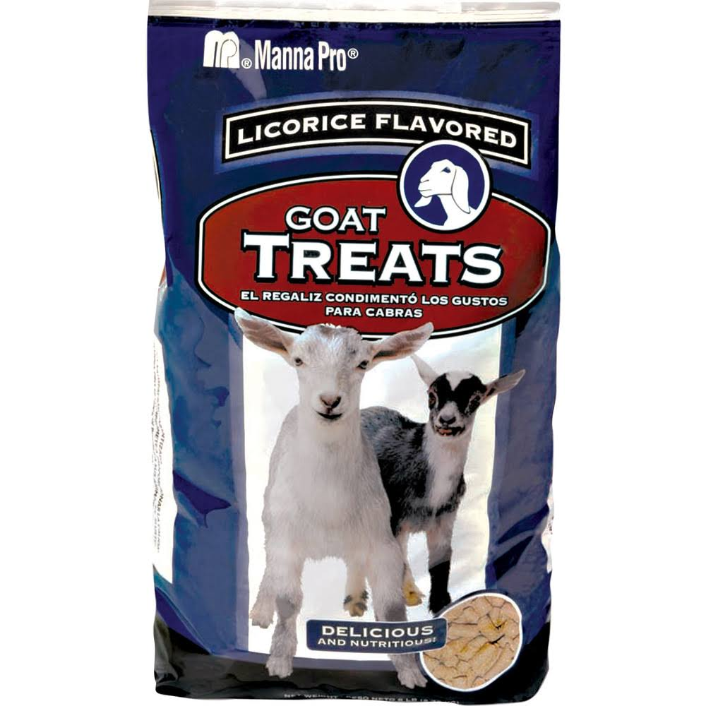 Manna Pro Licorice Goat Treats - 6lbs