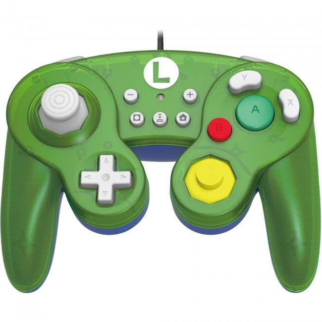 Super Mario Battle Pad for Nintendo Switch - Luigi