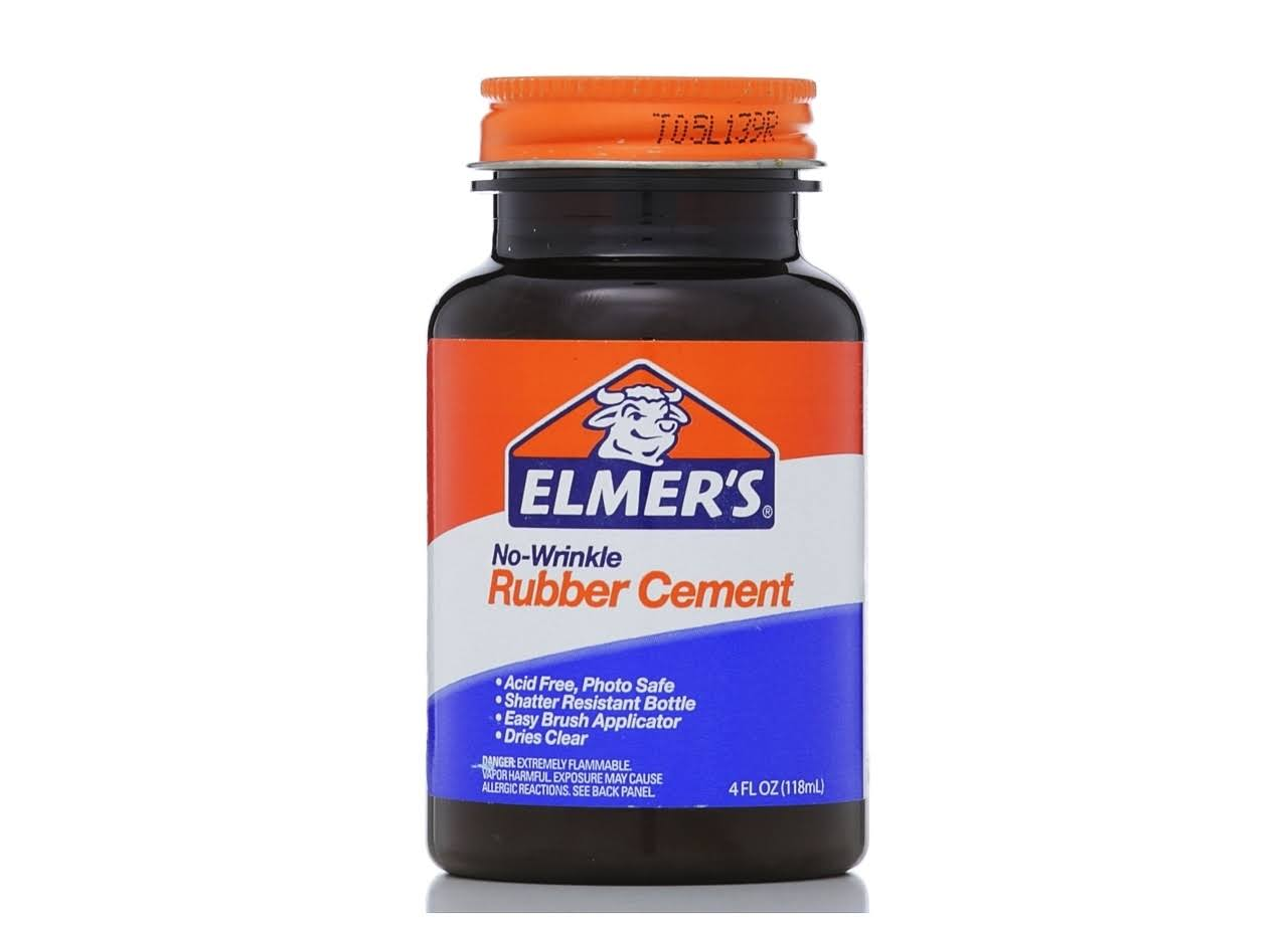 Elmer's Rubber Cement - 4 oz