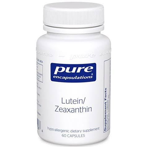 Pure Encapsulations Lutein Zeaxanthin Supplement - 60 Capsules