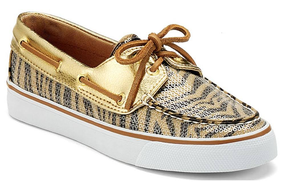 Sperry Bahama Gold Zebra