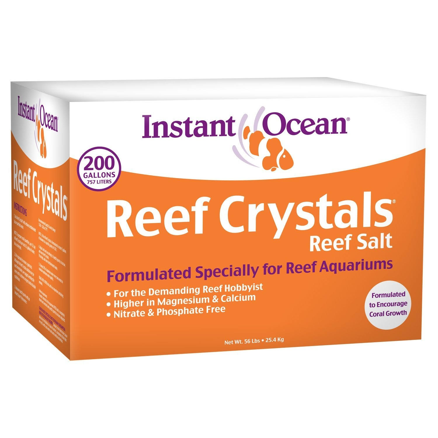 Instant Ocean Reef Crystal Reef Salt