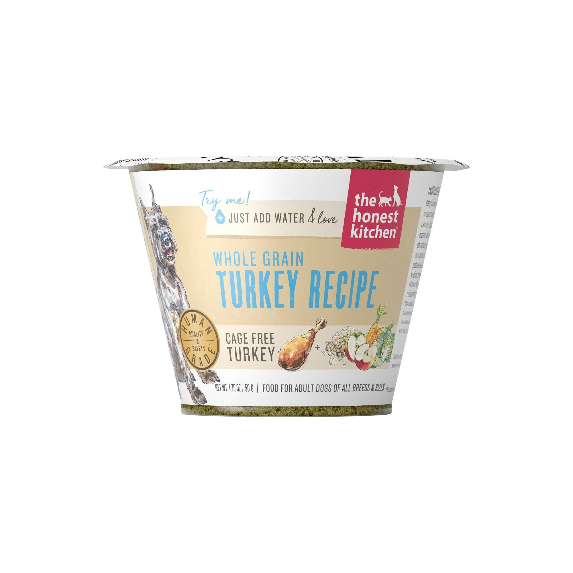 Honest Kitchen Whole Grain Turkey Dehydrated Dog Food 1.75oz