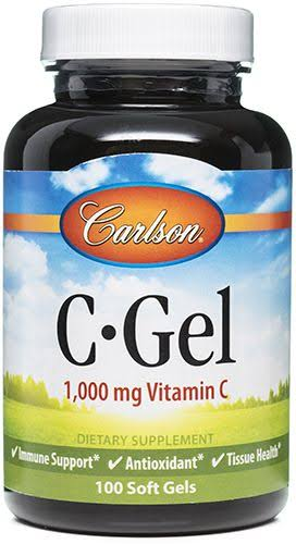 Carlson Labs C-Gel Vitamin C - 100 Softgels