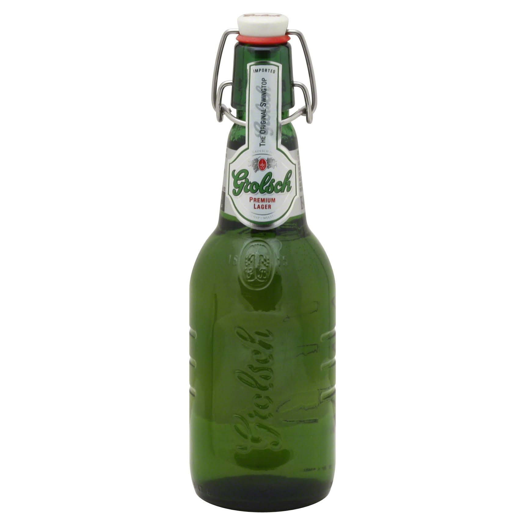 Grolsch Premium Swing Top Lager - 16 oz