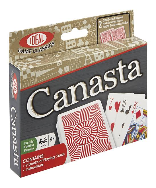 Ideal Canasta Classic Card Game