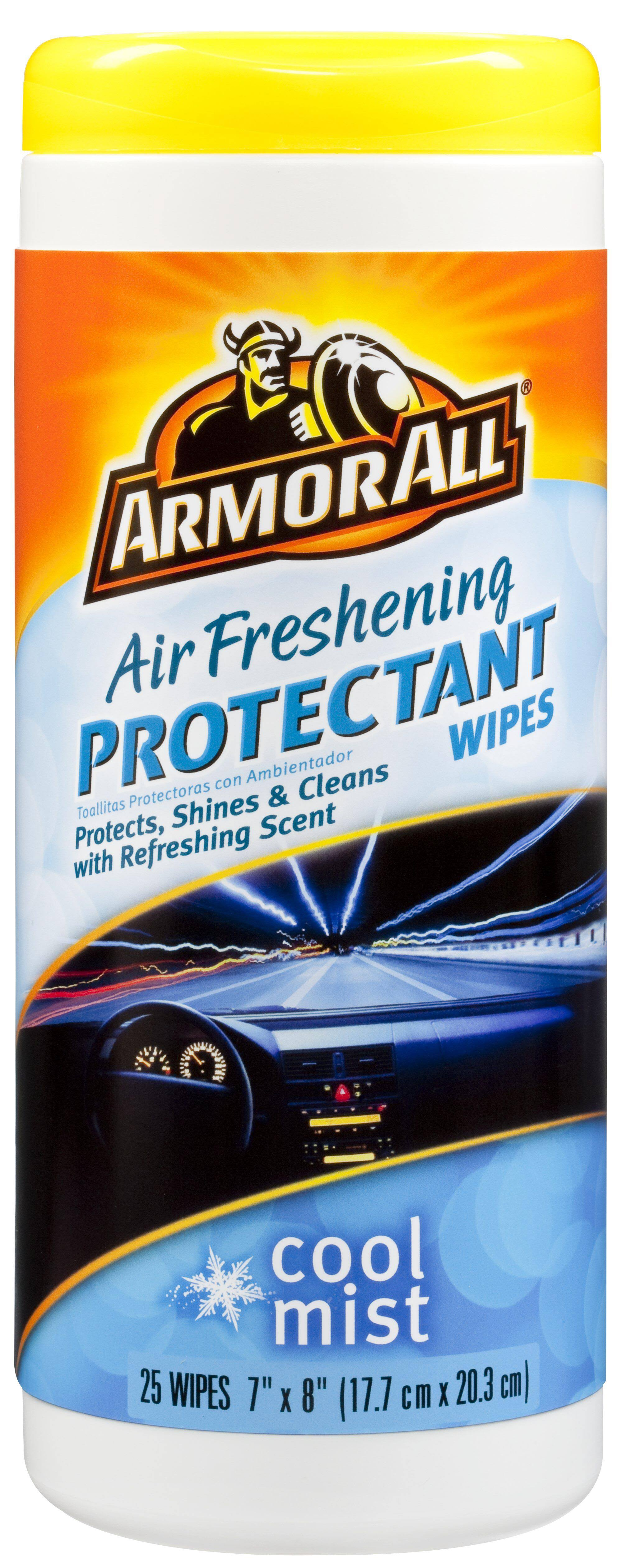Armor All Air Freshening Protectant Wipes - Cool Mist