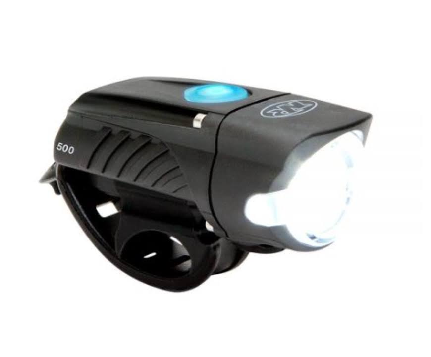 NiteRider Swift 500 Front Bike Light - Rechargeable / Black / Front