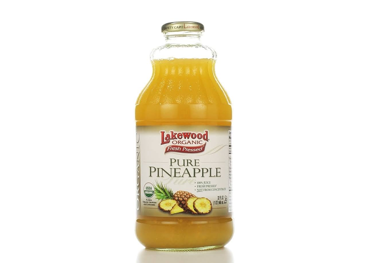 Lakewood Organic Concentrate Juice - Pineapple, Cold Pressed