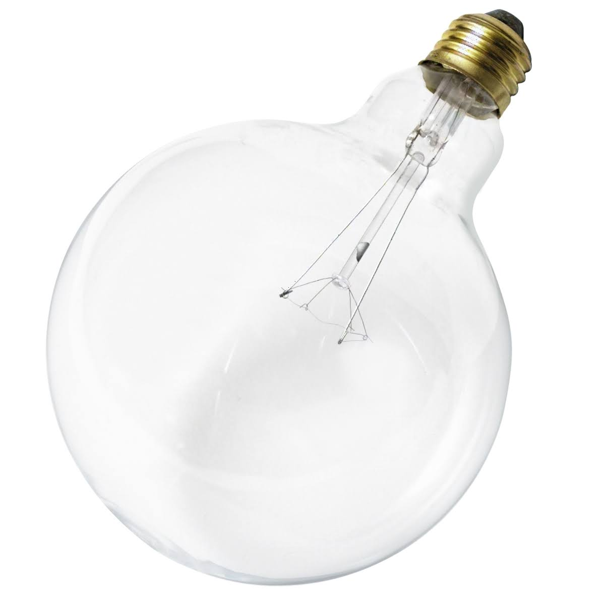 Satco S3012 Medium Base Light Bulb - Clear, 120V, 60W