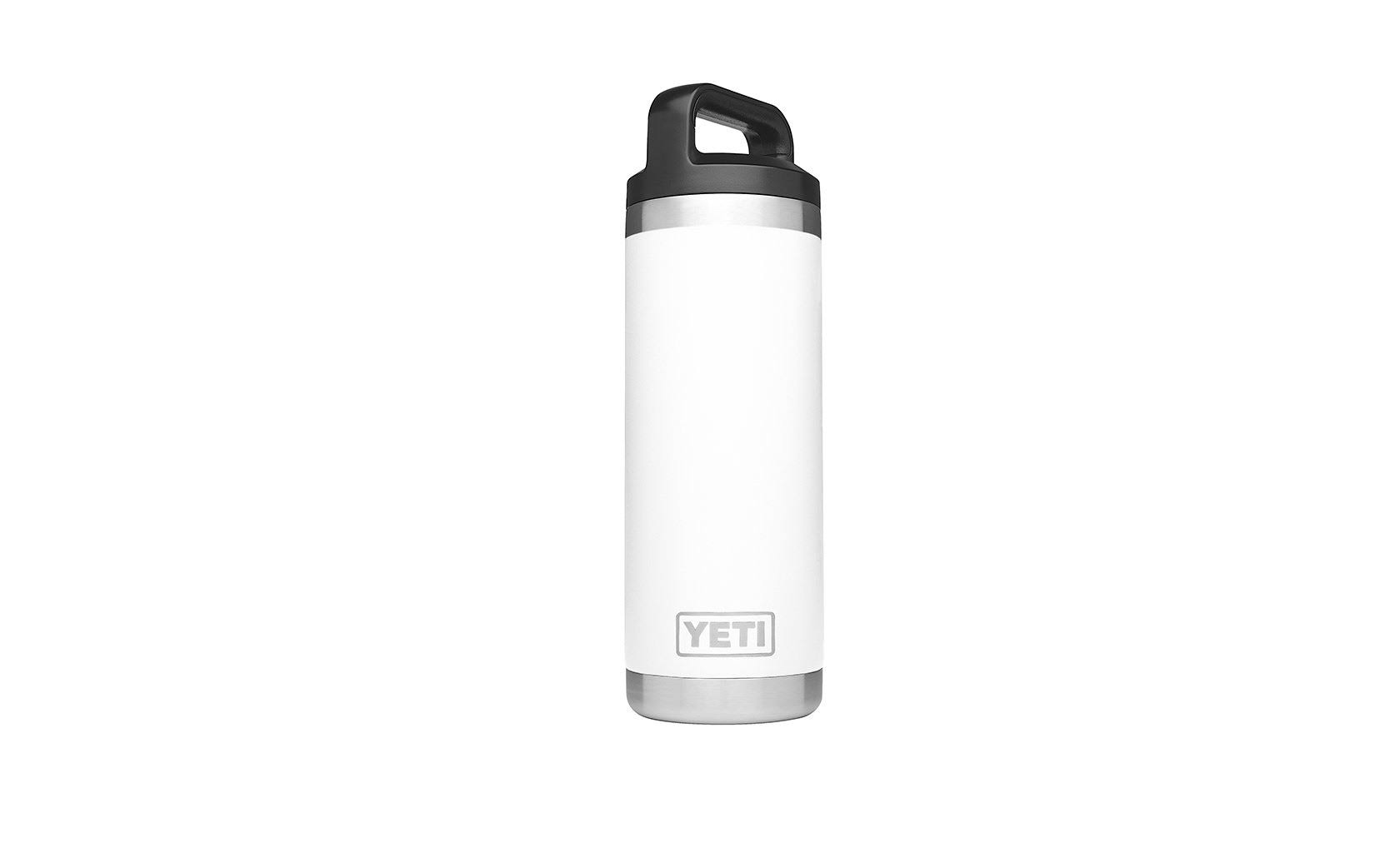 Yeti Rambler Stainless Steel Insulated Water Bottle - White, 18oz