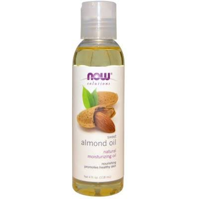 NOW Foods Sweet Almond Oil - 4 oz bottle