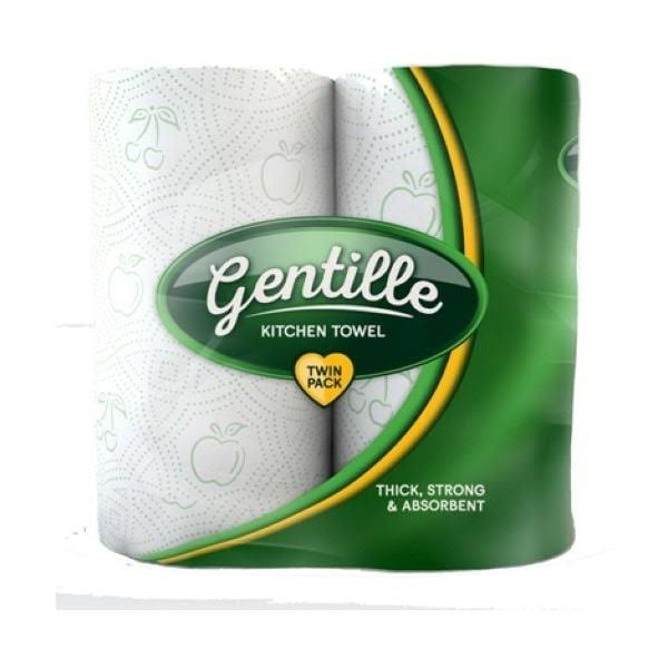 Gentille Luxury Kitchen Towel 2 Roll 2 Roll 12packs