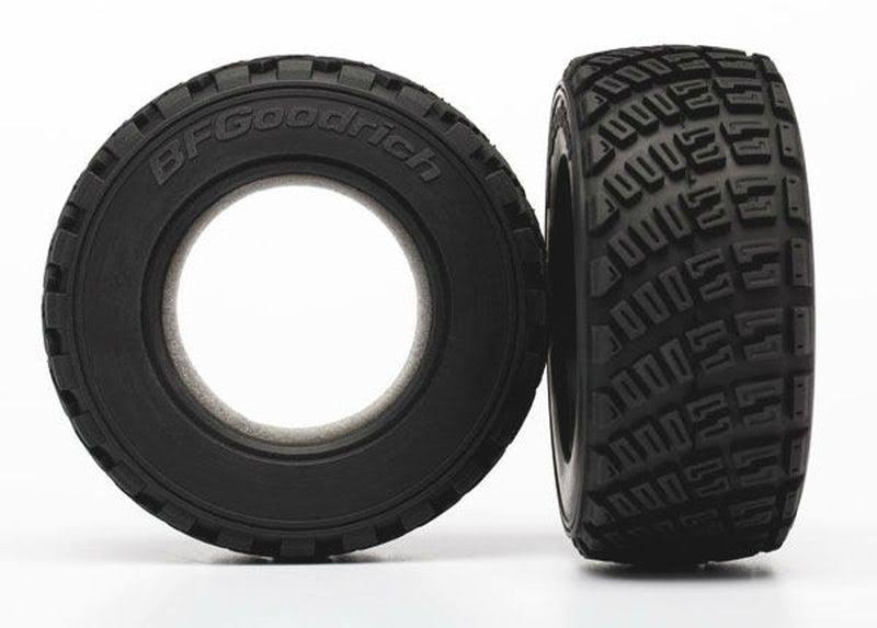 Traxxas BFGoodrich Gravel Pattern Tires - S1, 2ct, 1/10 Rally