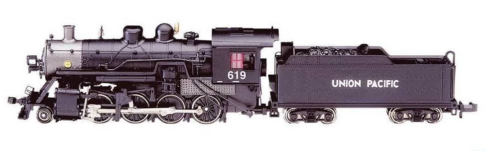 Bachmann Industries N 2-8-0 w/DCC & Sound Value, Up